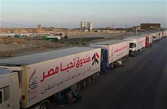 ننشر تفاصيل قافلة صندوق تحيا مصر المتجهة لقطاع غزة | بى دى إف