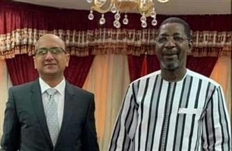 سفير مصر في واجادوجو يلتقي رئيس البرلمان البوركيني