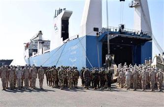 وصول القوات المصرية المشاركة في التدريب المشترك «حماة النيل» بالسودان