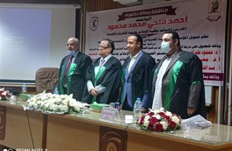 دكتوراه بـ«إعلام القاهرة» تناقش وضع خطة المؤسسات الصحفية فى ظل «كورونا»  صور