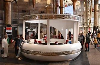 «السكة الحديد»: تحديث وتطوير مكتب استعلامات محطة القاهرة للتواصل مع الركاب | صور