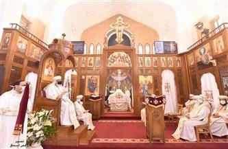 10 من أحبار الكنيسة يشاركون في تدشين كنيسة مارمرقس المعادي |صور