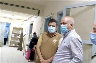 إحالة مدير مستشفى بسيون المركزي وفريق مكافحة العدوى للتحقيق| صور