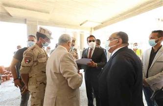 وزير التعليم العالي ورئيس جامعة حلوان يتفقدان أعمال إنشاءات الجامعة الأهلية الحديثة |صور