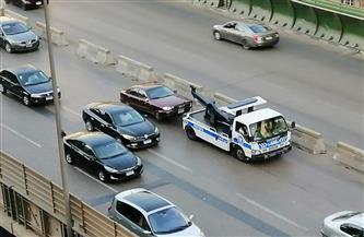 تسيير الحركة المرورية أعلى كوبري أكتوبر | صور