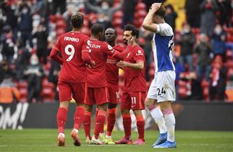 «مانى» يقود ليفربول للتأهل إلى أبطال أوروبا بعد الفوز على كريستال بالاس