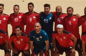 منتخب الشاطئية يخسر أمام المغرب 4/3 فى أمم إفريقيا