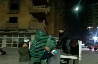 حي الهرم يشن حملات مسائية لرفع الإشغالات وضبط المخالفين في «المريوطية» و«اللبّيني»| صور
