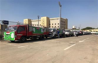 انطلاق أكبر قافلة إغاثية من الأزهر إلى قطاع غزة| صور