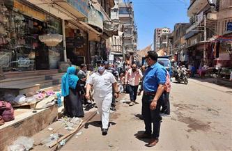 رفع 40 حالة إشغال من منوف| صور