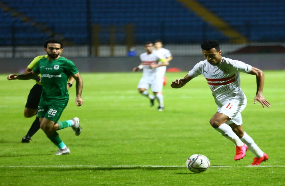 زيزو» يقود الزمالك للفوز على المصري بالدوري في الوقت القاتل| صور - بوابة الأهرام