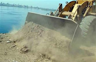 وزير الري يشهد إزالة عدد من التعديات على النيل في القاهرة   صور