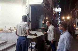 """تحرير 13 """"محضر بائع متجول ونظافة"""" في حملة مكبرة على مدينة الأقصر"""