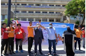 انطلاق شعلة أولمبياد الطفل المصري للطلائع في نسخته الثالثة بالأقصر