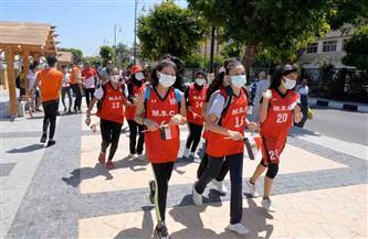 انطلاق مراسم شعلة أولمبياد الطفل المصري للطلائع في نسخة الثالثة بالأقصر | صور