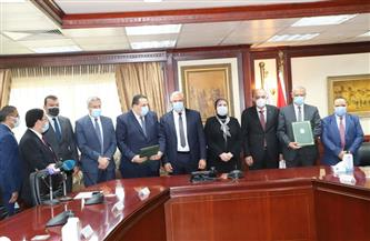 وزيرا الزراعة والصناعة يشهدان بروتوكول تعاون لدعم المشروعات الصغيرة في الريف | صور