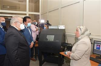 وزير التعليم العالي يفتتح كلية الدراسات العليا للنانو تكنولوجي بفرع جامعة القاهرة بالشيخ زايد   صور