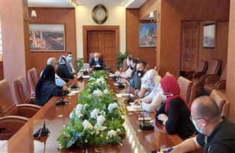 محافظ بورسعيد يتابع تنفيذ مشروع إعداد المنظومة الرقمية لحصرممتلكات الدولة