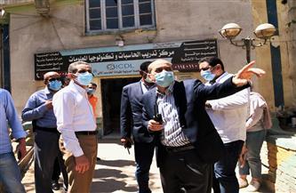 محافظ الغربية يلتقى مدير صندوق مكتبات مصر العامة لدعم وتشجيع الأنشطة الثقافية | صور