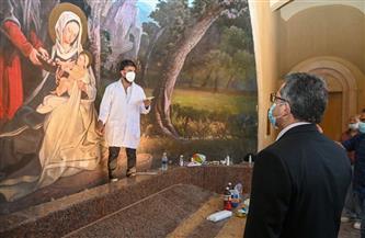الآثار: وضع شاشات لعرض أفلام وثائقية عن رحلة العائلة المقدسة في مصر بمنطقة شجرة مريم | صور