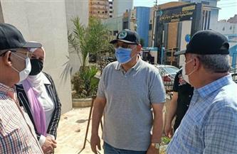 محافظ الشرقية يتفقد مكتبة مصر ويأمر بإعادة تطوير المنطقة المحيطة | صور