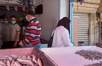 إعدام مواد غذائية لعدم الالتزام بالاشتراطات الصحية في حملة بالمطرية | صور