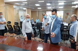 محافظ بورسعيد يتفقد مركز الخدمات والطوارئ والسلامة العامة المتطورة  صور