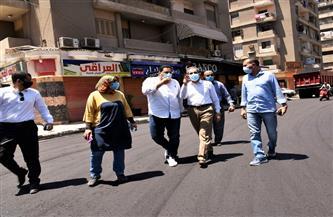 محافظ الغربية يتابع أعمال الرصف بشوارع مدينة المحلة الكبرى |صور
