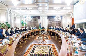 الحكومة الليبية تعقد اجتماعا مع مجموعة العمل الدولية الاقتصادية