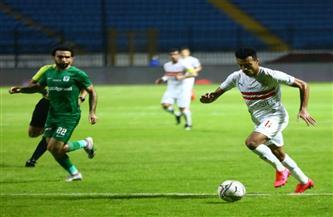 «زيزو» يقود الزمالك للفوز على المصري بالدوري في الوقت القاتل| صور