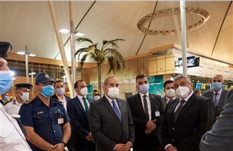 وزيرالطيران المدنى في جولة تفقدية لمطار شرم الشيخ الدولي | صور