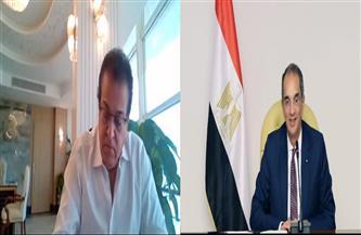وزيرا التعليم العالي والاتصالات يتابعان تنفيذ المشروعات المشتركة بين الوزارتين