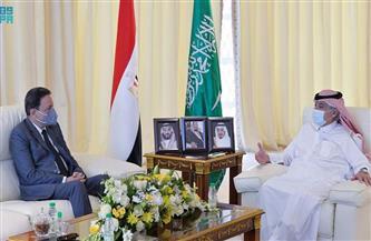 وزير الإعلام السعودي يستقبل رئيس المجلس الأعلى لتنظيم الإعلام المصري