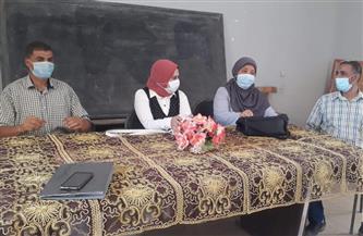 ندوات تثقيفية لصحة جنوب سيناء بالمصالح الحكومية حول الوقاية من كورونا