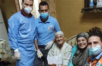 """الرعاية الصحية لبورسعيد تطلق حملة تطعيم كبار السن بلقاح """"كورونا"""" في المنازل"""