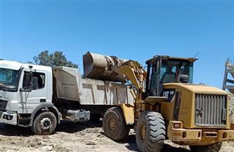 رفع 1100 طن قمامة في حملة نظافة بحي شرق شبرا الخيمة