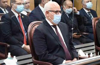 محافظ بورسعيد يشهد التشغيل التجريبى لمنظومة الشبكة الوطنية الموحدة للطوارئ والسلامة | صور