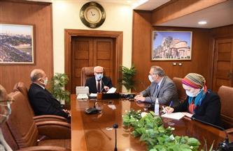 محافظ بورسعيد ونائب وزير الاتصالات يستعرضان تنفيذ مشروع حصر أصول أراضي الدولة | صور