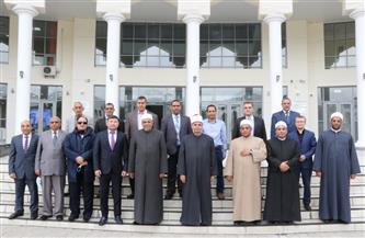 """رئيس القطاع الديني بـ""""الأوقاف"""" يتفقد جامعة """"نور- مبارك"""" بكازاخستان   صور"""