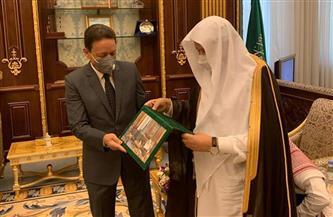 «جبر» و«القصبي» يؤكدان متانة الروابط بين مصر والسعودية.. ووفد سعودي بالقاهرة قريبًا لبحث المشروعات المشتركة