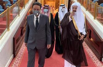 تفاصيل لقاء كرم جبر بـ«رئيس الشورى السعودي» و«وزير الإعلام المكلف» خلال زيارته للمملكة   صور