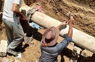 مد خط مياه بطول 1.5 كم لخدمة أهالي نجع الجربا غرب الإسكندرية| صور