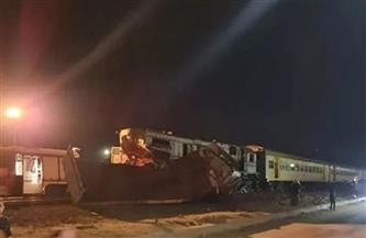 قطار يدهس ميكروباصا أثناء عبوره مزلقانا غير شرعي في دشنا