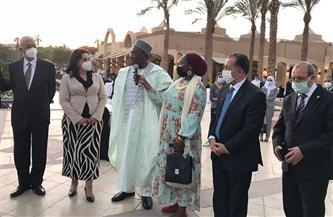 احتفالًا بيوم إفريقيا.. جولة لسفراء القارة السمراء بالمتحف القومي للحضارة
