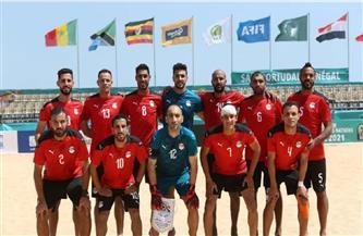 منتخب الشاطئية يواجه المغرب غدًا في الجولة الثالثة لأمم إفريقيا