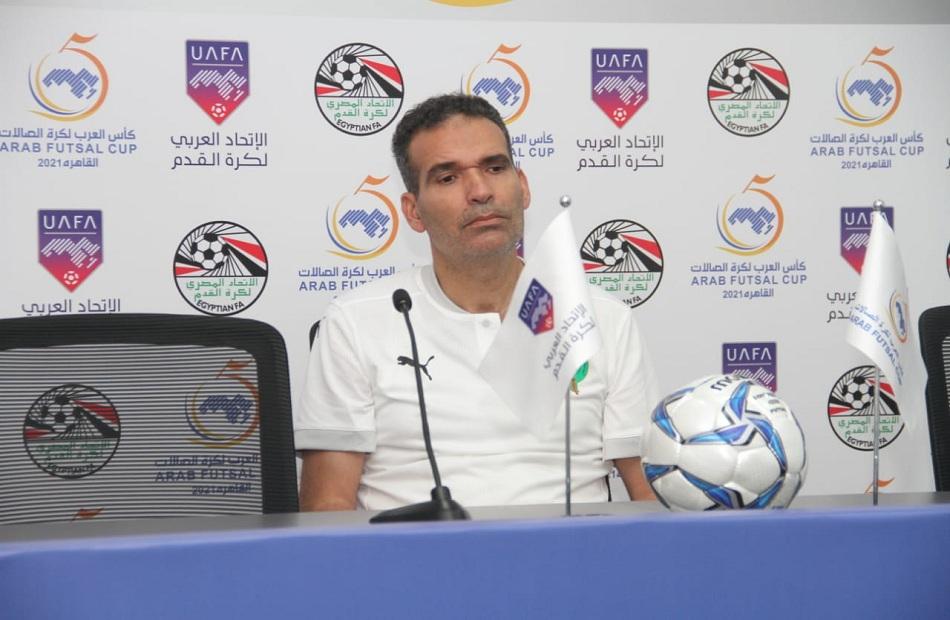 مدرب منتخب صالات المغرب التركيز وراء تحقيق العلامة الكاملة في الدور الأول من كأس العرب