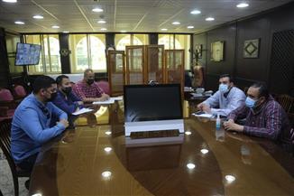 نائب محافظ كفر الشيخ: توصيل التليفونات والإنترنت لمصنع فصل المعادن من الرمال السوداء بغليون |صور