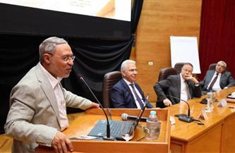 رئيس جامعة طنطا: إستراتيجية متكاملة لتنمية الموارد البشرية بنظام الإدارة الحديثة