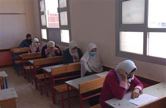 صحة كفرالشيخ استمرار امتحانات مدارس التمريض وسط الإجراءات الاحترازية المشددة | صور