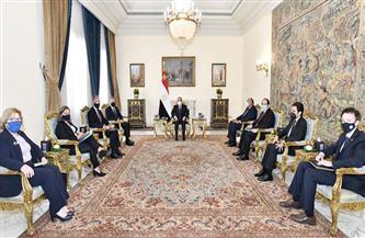 الرئيس السيسي ووزير خارجية أمريكا يتوافقان على أهمية دعم المرحلة السياسية الفارقة في تاريخ ليبيا